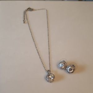 Premier Design Necklace and Matching Earrings